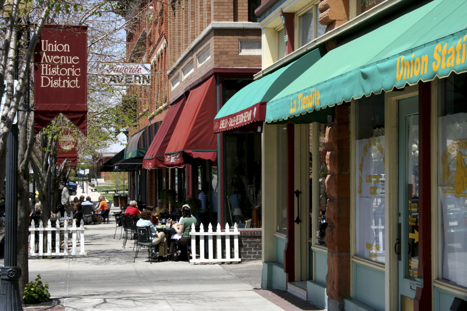 Union Ave Historic Shopping Dist